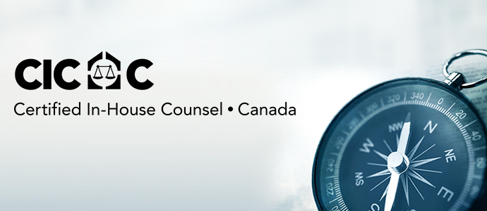 Certified In-House Counsel Canada Banner